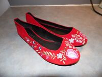 Womens flats by Office London, new, size 42.