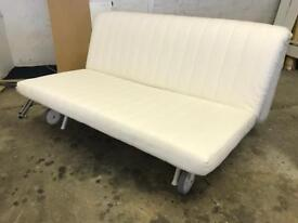 FREE DELIVERY IKEA PS MURBO WHITE SOFA BED GOOD CONDITION
