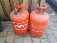 Two 13kg Gas Bottles