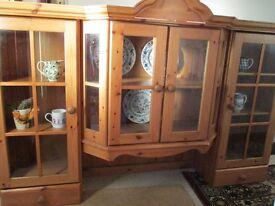 Dresser TOP. Lovely pine dresser top,unfitted kitchen, transport poss