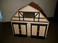 Wooden Toy Barn / Tractor shed