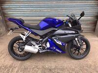 2014 YAMAHA YZF R125 YZFR125 BLUE