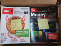 Which Consumer & Money magazines from 2014 / 2015 / 2016