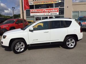 2016 Jeep Compass HIGH ALTITUDE 4X4 LEATHER SUNROOF TOUCH SCREEN