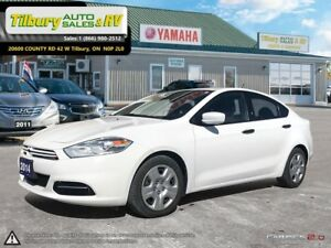 2014 Dodge Dart SE. Manual Transmission.