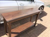Side Table , or door entrance/ vestibule Table Dark Oak