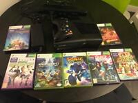Xbox 360 4GB kinect with 7 games
