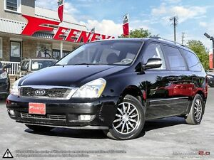 2012 Kia Sedona EX-L LUXURY- LEATHER, SUNROOF, POWER SLIDING DOO