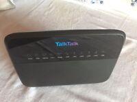 Wi-fi broadband router - TalkTalk (Huawei HG533)