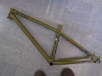 NS Bikes Surge Evo mountain bike frame MTB Army Green