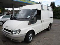 2004 54 FORD TRANSIT 2.0 SWB 280 MEDIUM ROOF PANEL VAN SUPER LOW 67K 1 OWNER LOVELY DRIVE PX SWAPS