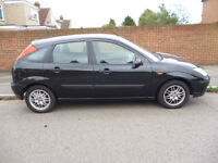 FORD FOCUS LX TDCI 1,8 DIESEL 5 door hatchback, year 2003, in BLACK.