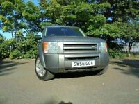 56 LAND ROVER DISCOVERY 7 SEATS TDV6 GS 2.7 DIESEL 4X4,MOT APRIL 022,3 OWNERS,LANDROVER HISTORY