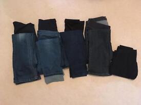 Jeans, leggings, trousers