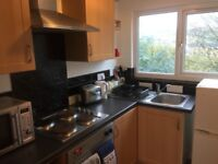 1 bed furnished flat near town Centre university Huddersfield