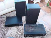 Speakers, Amp & CD Player