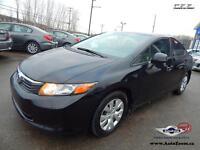 2012 Honda Civic Sdn LX * 29,94$/sem *