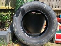 FREE Used Tyre - Could be used for displaying flowers in the garden