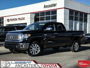 2017 Toyota Tundra Limited 5.7L V8 DOUBLE CAB ONLY 11647 KMS!!