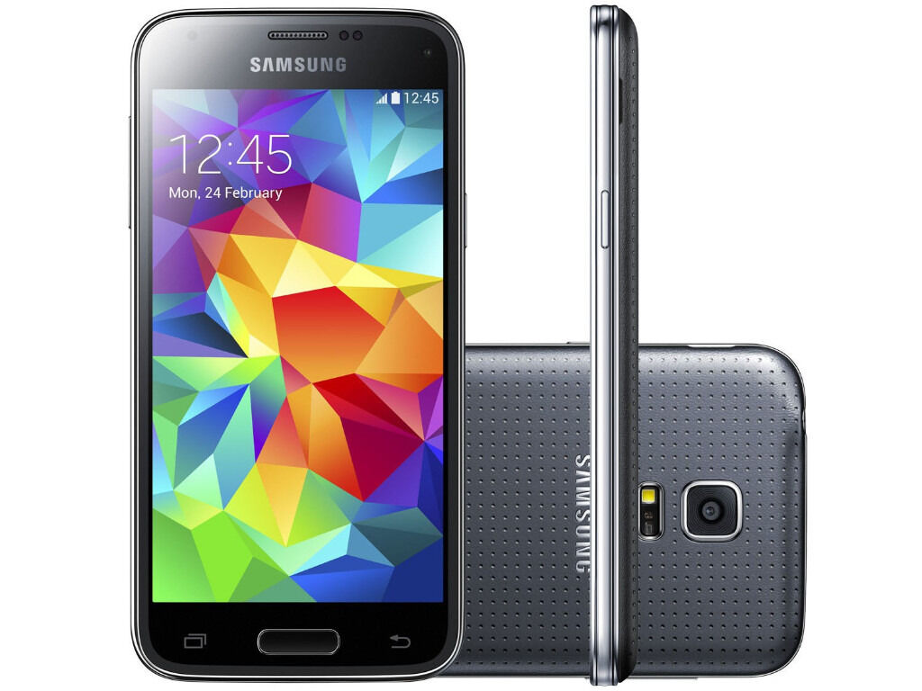 Unlocked Samsung Galaxy S5 Mini G800-F Mobile Phone - Black
