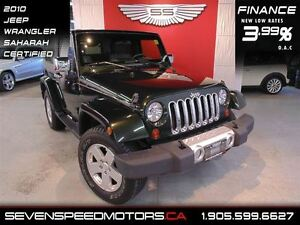 2010 Jeep Wrangler SAHARA SOFT & HARD TOP|$155 BW|1YR FREE WARRA