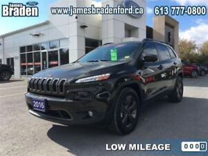 2016 Jeep Cherokee North 4WD - Low Mileage