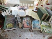 Job Lot, 55 Classic Books, Hardbacks & paperbacks. Some old/collectable. £5 to clear