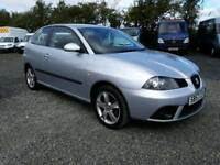 SEAT IBIZA SPORT 2007, 1.4, Full service history, low mileage, excellent condition