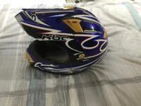 Motorcross helmets