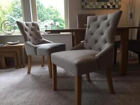Pair of Dining or Bedroom Chairs