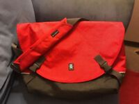 "Crumpler Proper Roady Laptop L. Red and black. Like new. For 15"" laptop."