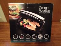 George Foreman Health Grill. (NEW NEW NEW....BOXED)