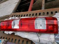 Iveco Daily rear lights left side, 2008 model, gits 2007 to 2012