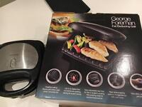 George Foreman Grill and toaster