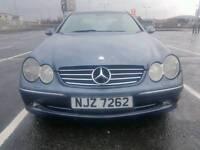 Mercedes Clk270 cdi diesel automatic