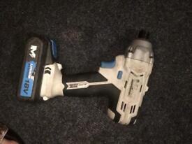 Mac allister 18V impact drill