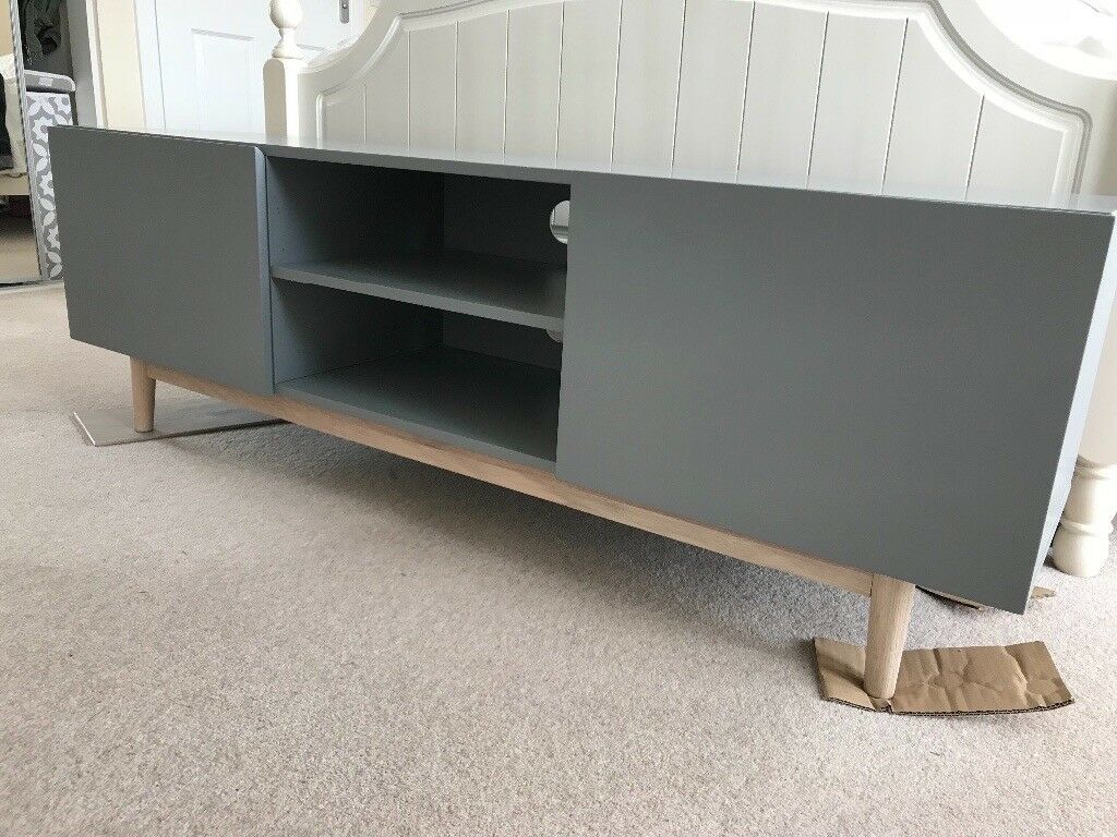 Maisons Du Monde Artic Scandinavian Grey Tv Unit In Barrhead