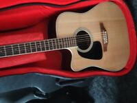 Takamine gd51ce left handed with gator case