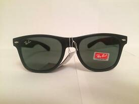 RayBan Wayfarer Sunglasses RB2140 (matte black frame)