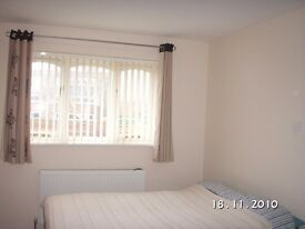 Modern one bed house on main bus route and 5 mins to train station, frnt garden