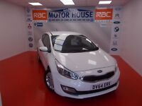 Kia Ceed (PRO CEED VR7) (7 YEARS WARRANTY) FREE MOT'S AS LONG AS YOU OWN THE CAR!!! (white) 2014
