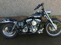 Harley Davidson Shovelhead unfinished project