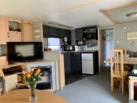 Static caravan for sale sited at Bunn Leisure