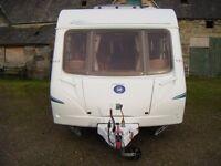 ### 2005 Abbey Safari 520, 4 Berth Caravan with Full Awning ###