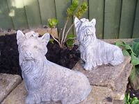 Yorkshire Terrier Dog Garden Ornaments