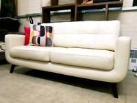 John Lewis Barbican leather sofa RRP £1800