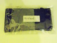 Mens Kirkland Boxer Briefs. 2 Pairs. 1 Black, 1 Grey. Size Medium