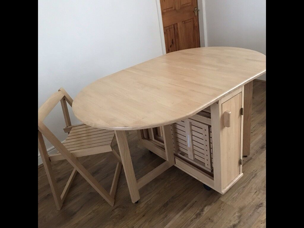 Foldaway Dining Table and Chairs