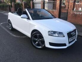 2009 Audi A3 convertible low mileage full service history