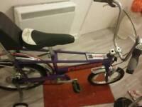 Raleigh chopper mrk 3 retro bike